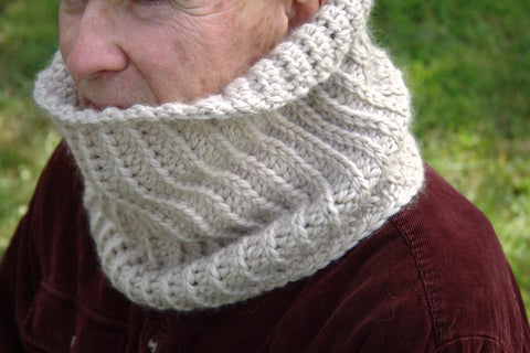 Crochet Pattern  - North Ridge Neck Warmer P132