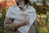 Crochet Pattern - Gathered Buds Scarf P148