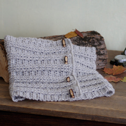 Crochet Pattern - Sugar Maple Cowl P138