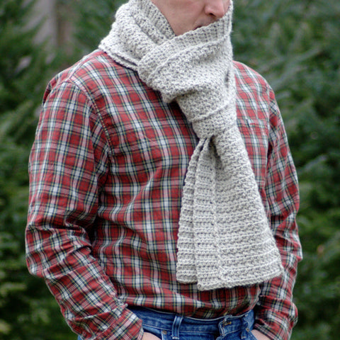 Crochet Pattern - Winter Path Scarf P141