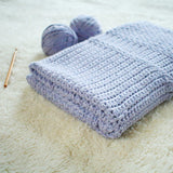 Crochet Pattern - Story Book Baby Blanket P-StoryBook