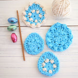 Crochet Pattern - Sweet Pea Easter Egg
