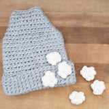 Crochet Pattern - This Way That Way Peak Hat P163