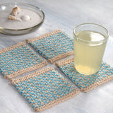Crochet Pattern - Interlaced Row Placemat and Coaster P109