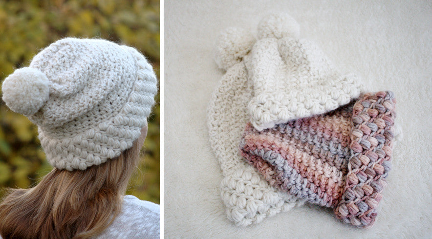 Gathered Buds Hat