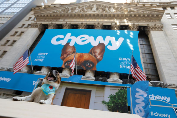 Ripley & Rue bandana featured in The Wall Street Journal - Chewy's Stock Surge