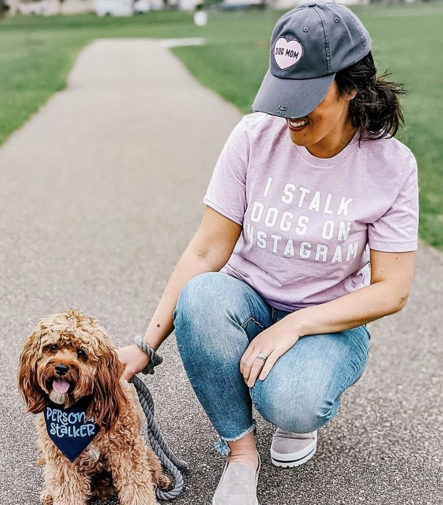 I Stalk Dogs on Instagram Short Sleeve Uni-Sex T-shirt - Ripley & Rue