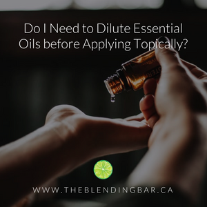 Do I Need to Dilute Essential Oils before Applying Topically?