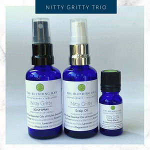 Nitty Gritty Trio - Scalp Blend | Scalp Spray | Scalp Oil