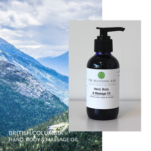 British Columbia Massage | Bath | Body Oil