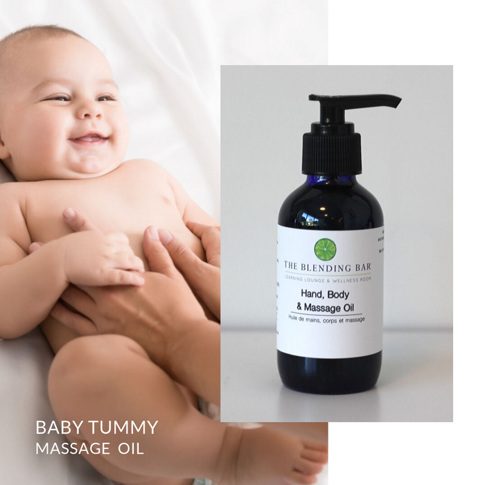 Baby Tummy Massage Oil 120 ml
