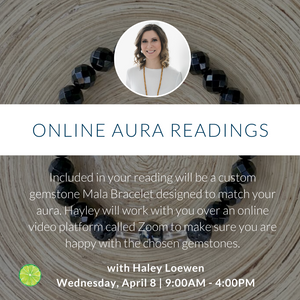 Online Aura Readings with Hayley Loewen | Wednesday, April 8