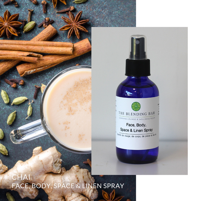 Chai Face | Body | Room | Linen Spray