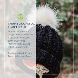 Vanna's Crochet Co. Chanel Beanie