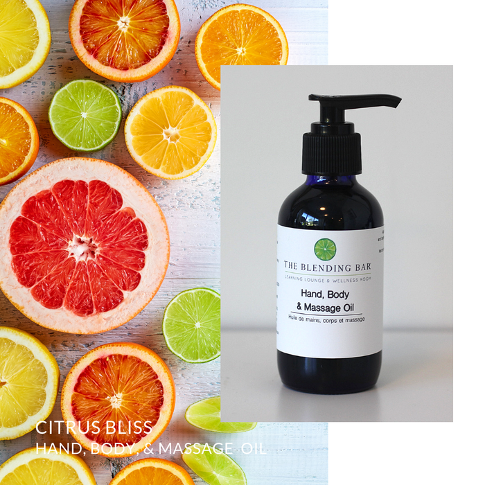Citrus Bliss Massage | Bath | Body Oil