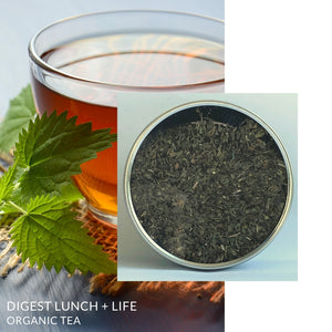 Digest Lunch + Life Reme-Tea | Organic Herbal Tea