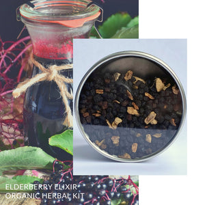 Elderberry Elixir | Organic DIY Herbal Syrup