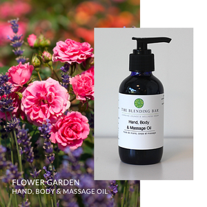 Flower Garden Massage | Bath | Body Oil