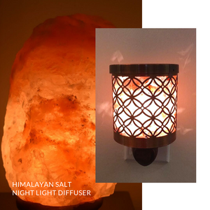 Himalayan Salt Night Light Diffuser