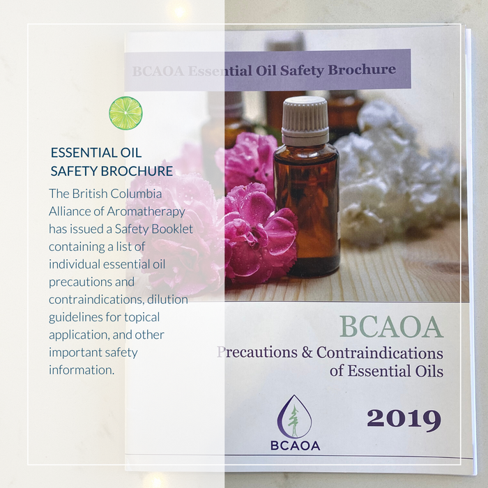 BCAOA Essential Oil Safety Booklet