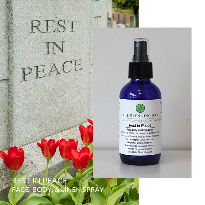 Rest In Peace Face | Body | Room | Linen Spray