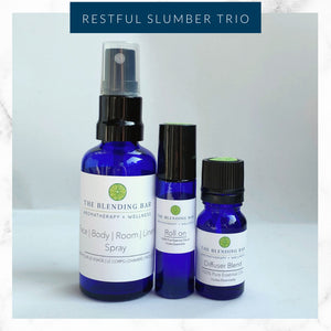 Restful Slumber Trio - Diffuser Blend | Spray | Roll on