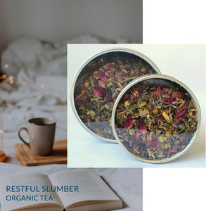 Restful Slumber Reme-Tea | Organic Herbal Tea