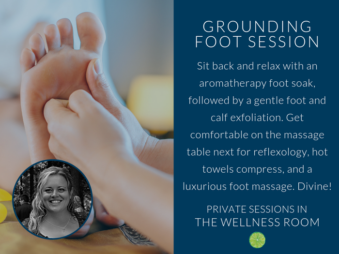 Grounding Foot Session