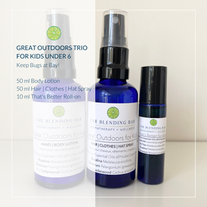 Great Outdoors Trio for Kids - Lotion | Spray | Roll on