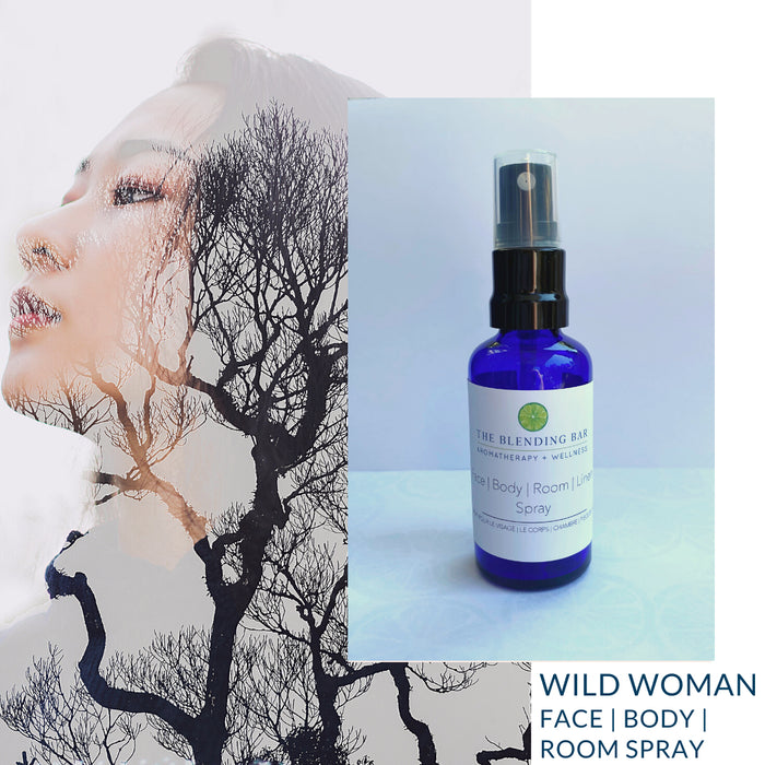 Wild Woman Face | Body | Room | Linen Spray