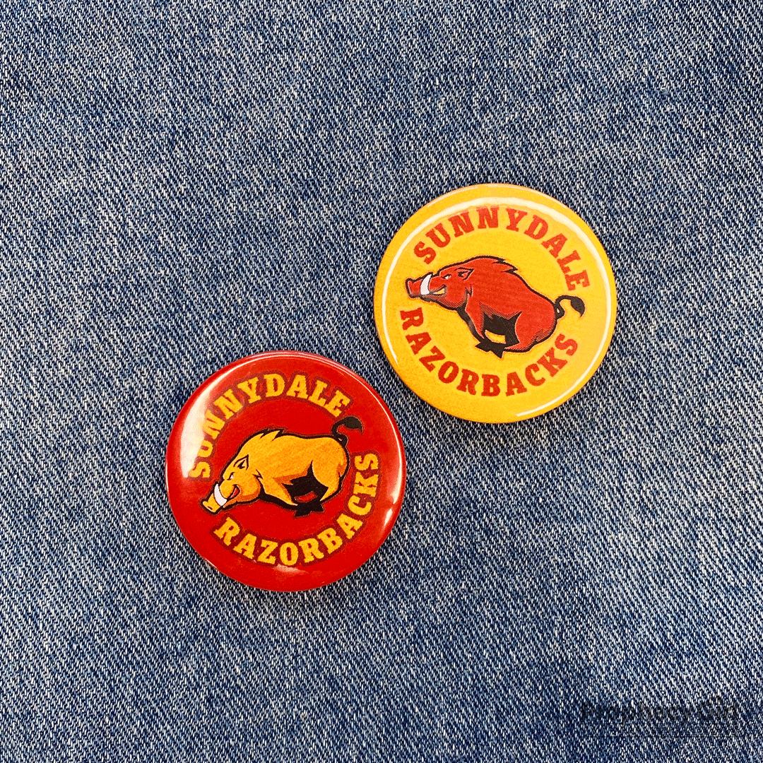 Sunnydale Razorbacks Badge