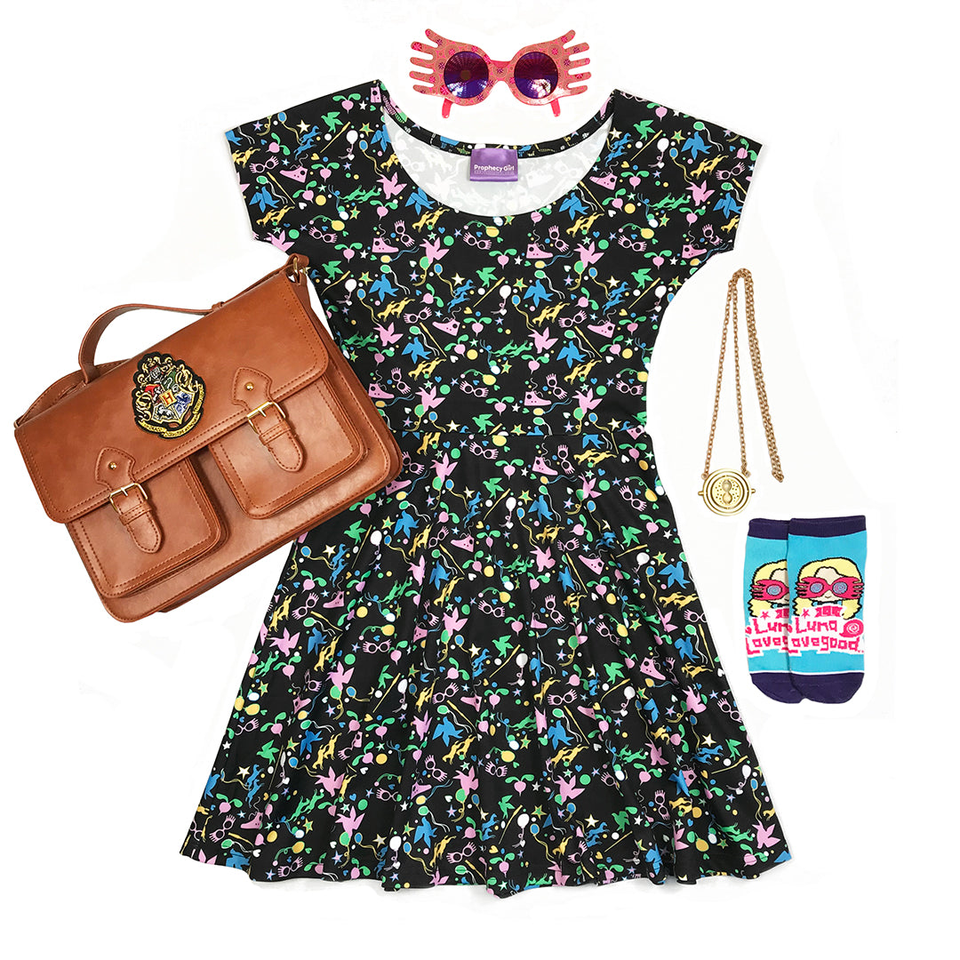 Lovely Loony Skater Dress