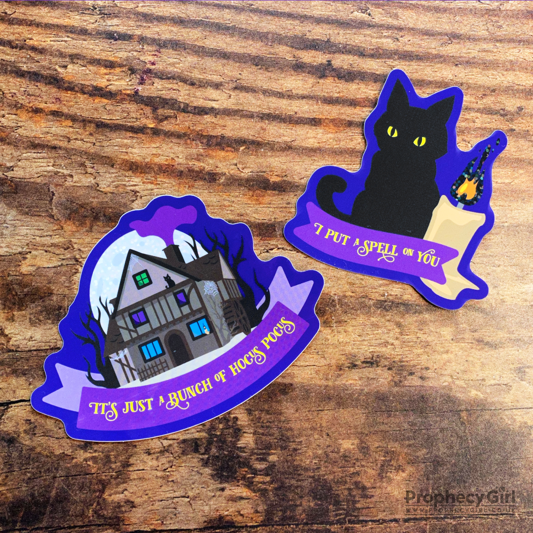 I Put A Spell On You Sticker Set
