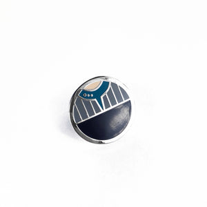 Symbiosis Pin Badge