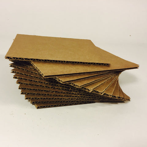 Ready to Make Cardboard - 6 x 6, 72 pack -  Supplies - Maker Ready