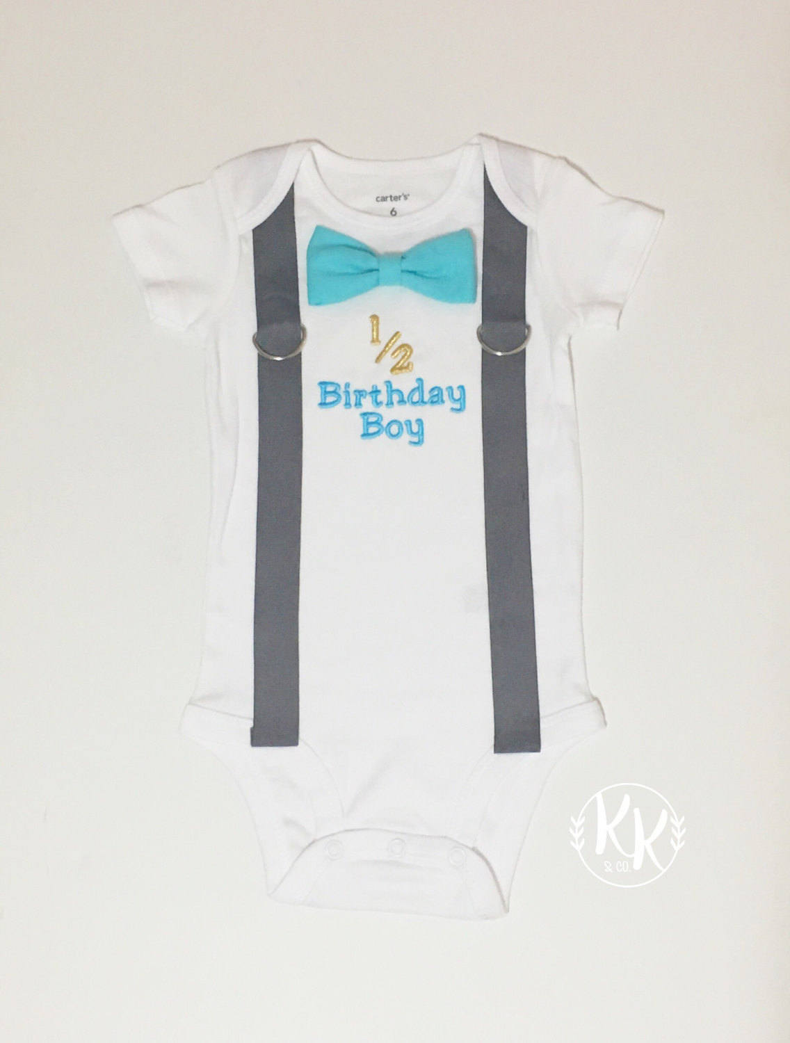 Half Birthday Shirt 1 2 Boy Boys
