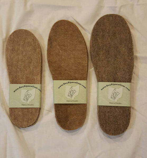 Alpaca Insole made in Ohio