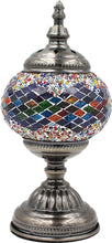 Load image into Gallery viewer, Handmade Mosaic Glass Table Lamp - Multicolor 13