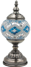 Load image into Gallery viewer, Handmade Mosaic Glass Table Lamp - Multicolor 12