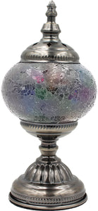 Handmade Mosaic Glass Table Lamp - Multicolor 10