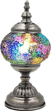 Load image into Gallery viewer, Handmade Mosaic Glass Table Lamp - Multicolor 10