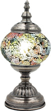 Load image into Gallery viewer, Handmade Mosaic Glass Table Lamp - Multicolor 9