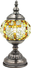 Load image into Gallery viewer, Handmade Mosaic Glass Table Lamp - Multicolor 8