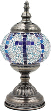 Load image into Gallery viewer, Handmade Mosaic Glass Table Lamp - Multicolor 7