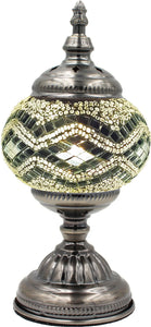 Handmade Mosaic Glass Table Lamp - Multicolor 5