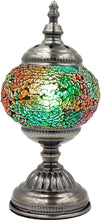 Load image into Gallery viewer, Handmade Mosaic Glass Table Lamp - Multicolor 4