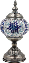 Load image into Gallery viewer, Handmade Mosaic Glass Table Lamp - Multicolor 2