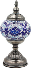 Load image into Gallery viewer, Handmade Mosaic Glass Table Lamp - Multicolor 1