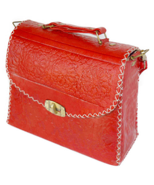 Moroccan Genuine Leather Handbag - Multiple colors