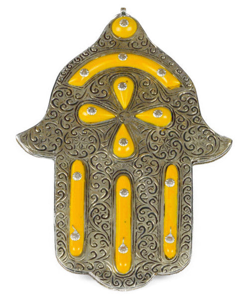 Moroccan Hand of Fatima / Hamsa / Khamsa - Multiple colors (Large)